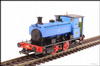 Hattons H4-AB14-008 Andrew Barclay 0-4-0ST 14 2134 No.3 in Fina lined blue